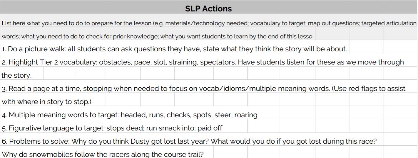 I Dont Do Lesson Plans Im Not A Teacher Slp Toolkit